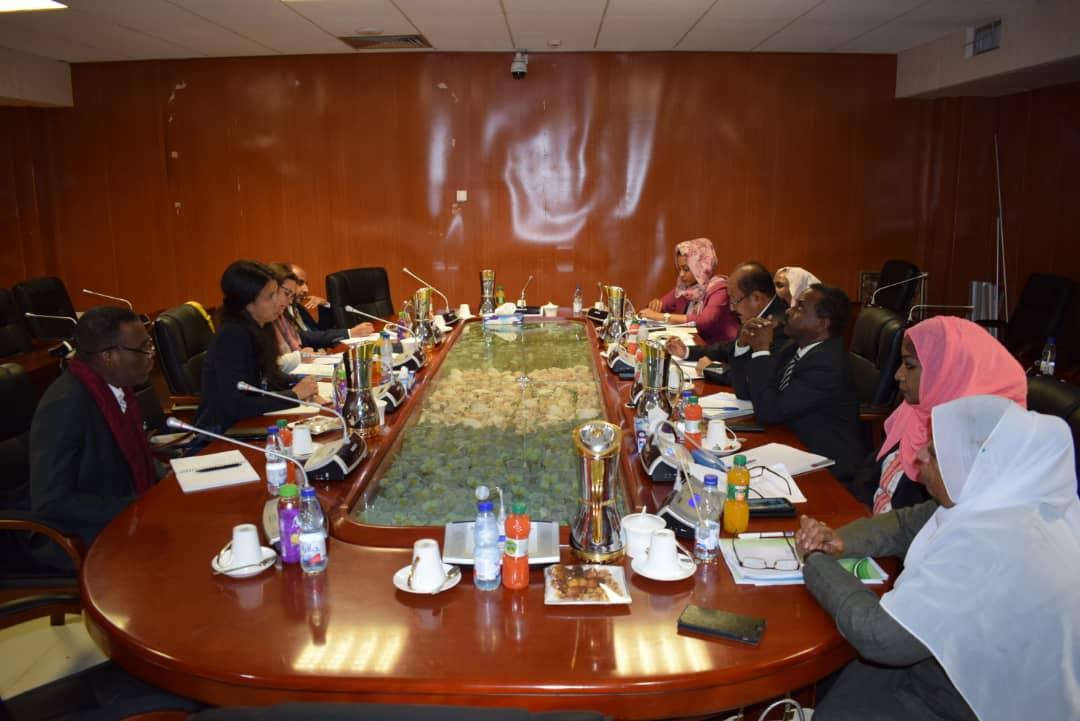 بدء اجتماعات التفاوض حول انشاء المكتب القطري بالسودان