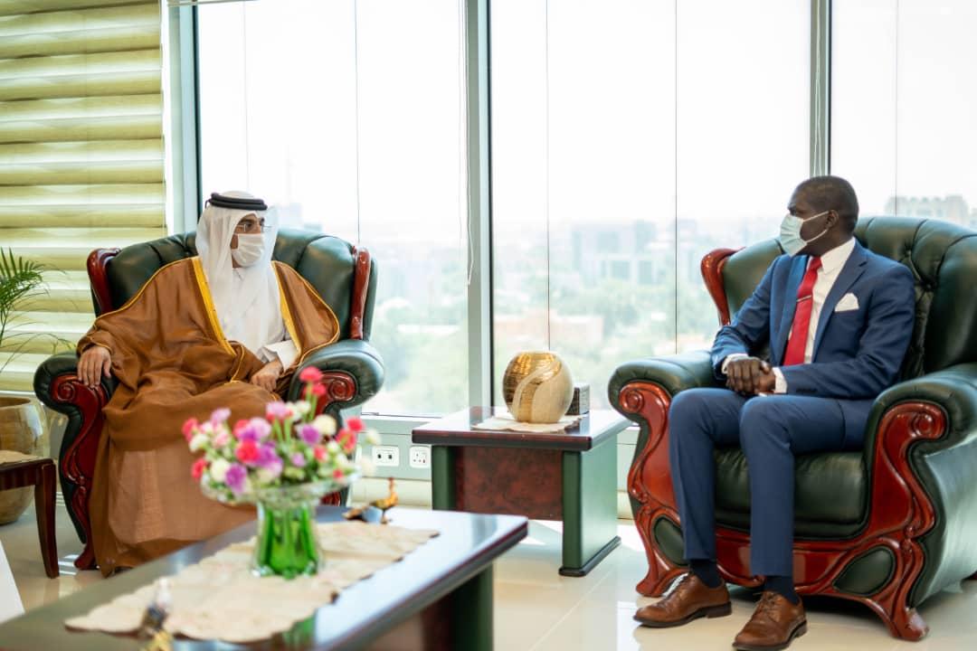 وزيرالعدل يلتقي الدكتورعلي بن صميخ المرّي نائب رئيس التحالف العالمي للمؤسسات الوطنية لحقوق الانسان