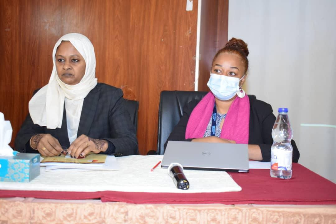المحامي العام تؤكد اهتمام وزارة العدل بمراجعة كافة القوانين المتعلقة بحقوق الانسان
