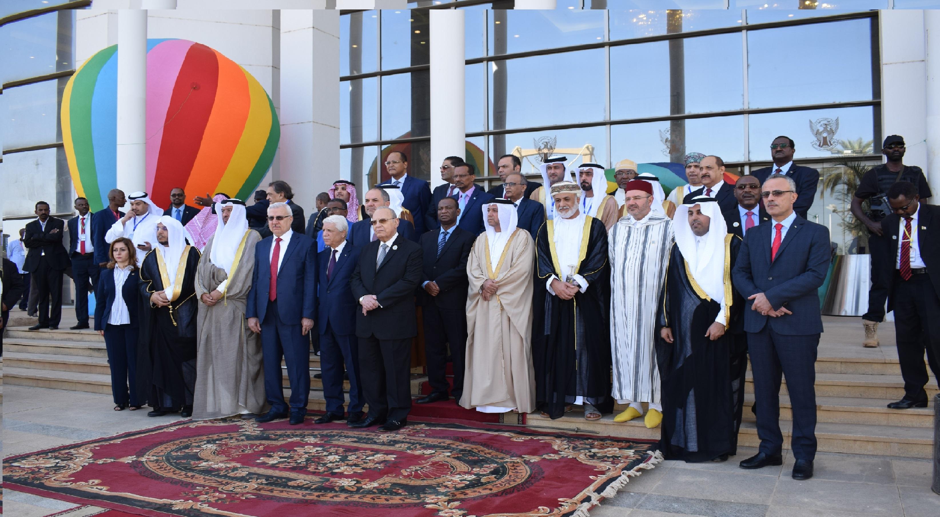 وزراء العدل العرب يبعثون ببرقية شكر لرئيس الجمهورية