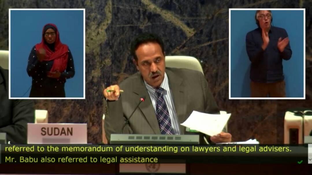 وزير العدل يقدم تقريره الأول للجنة الاتفاقية الدولية للأشخاص ذوي الاعاقة بجنيف