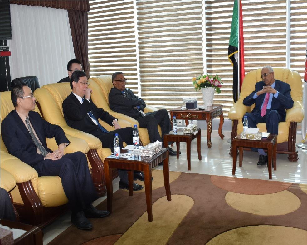 سالم يؤكد اهمية التعاون القضائي بين السودان والصين