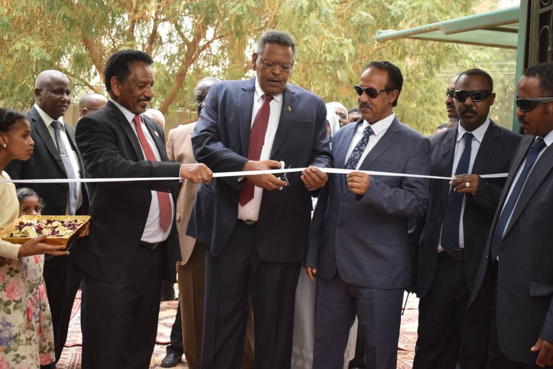 النائب الاول لرئيس الجمهورية  يفتتح المقر الجديد للمسجل التجاري.