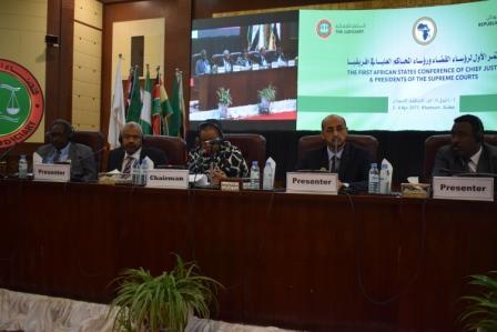 النائب العام لجمهورية السودان يستعرض الجهود الوطنية والإقليمية لمكافحة الجريمة العابرة للحدود
