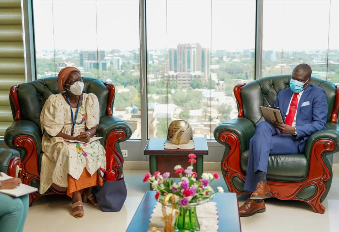 اجتماع وزير العدل مع ممثل هيئة الأمم المتحدة للمرأة