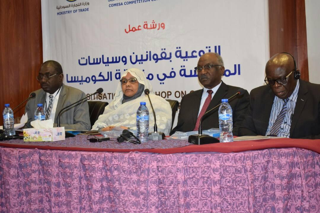 تور الدبة تؤكد أن السودان فعل الأطر القانونية المتعلقة بالكوميسا
