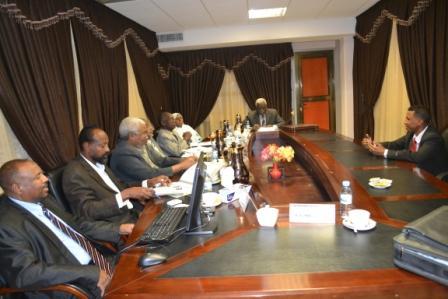 لجنة معاينات المستشارين الجدد بوزارة العدل تفرغ من أعمالها وترفع تقريرها لمفوضية الخدمة المدنية