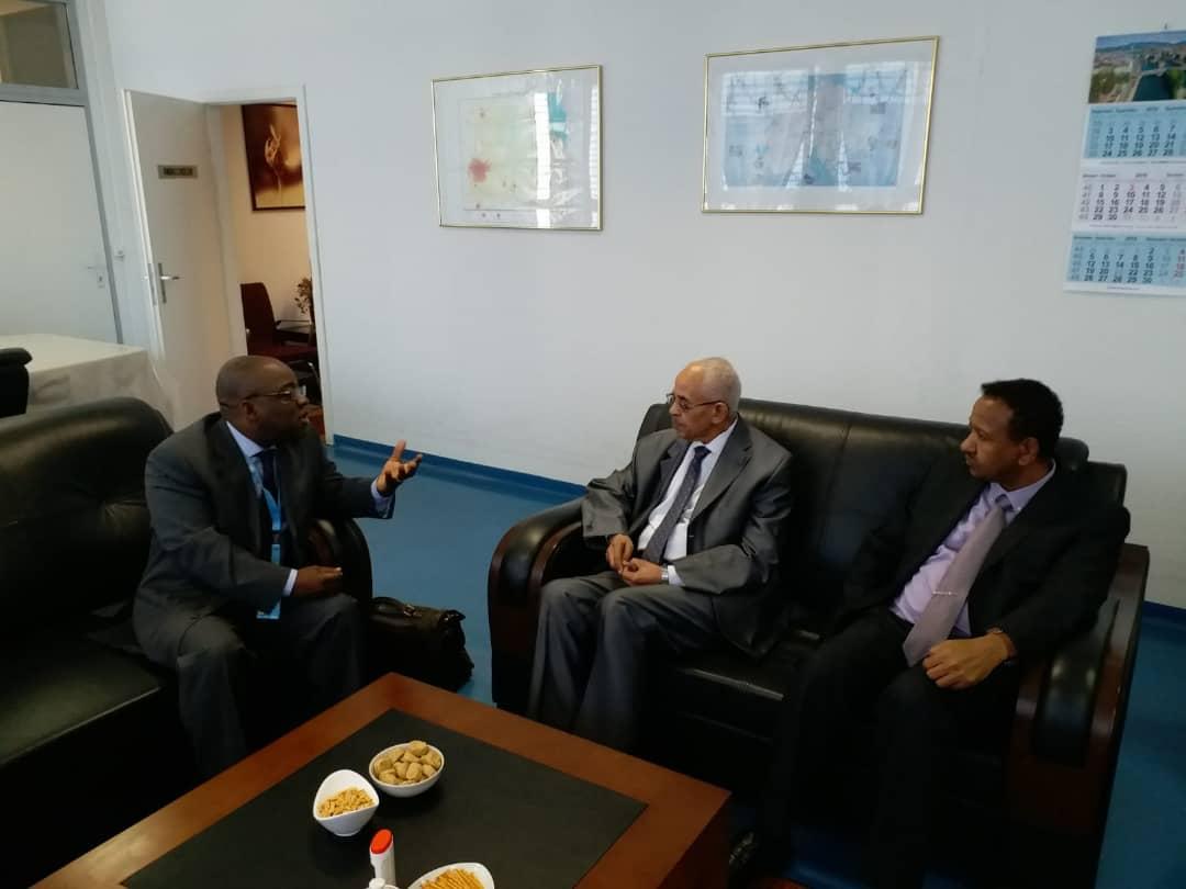 """الخبير المستقل يزور بعثة السودان """"بجنيف""""ويلتقي وزير العدل"""